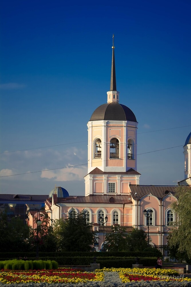 Church in Siberia by samsheff