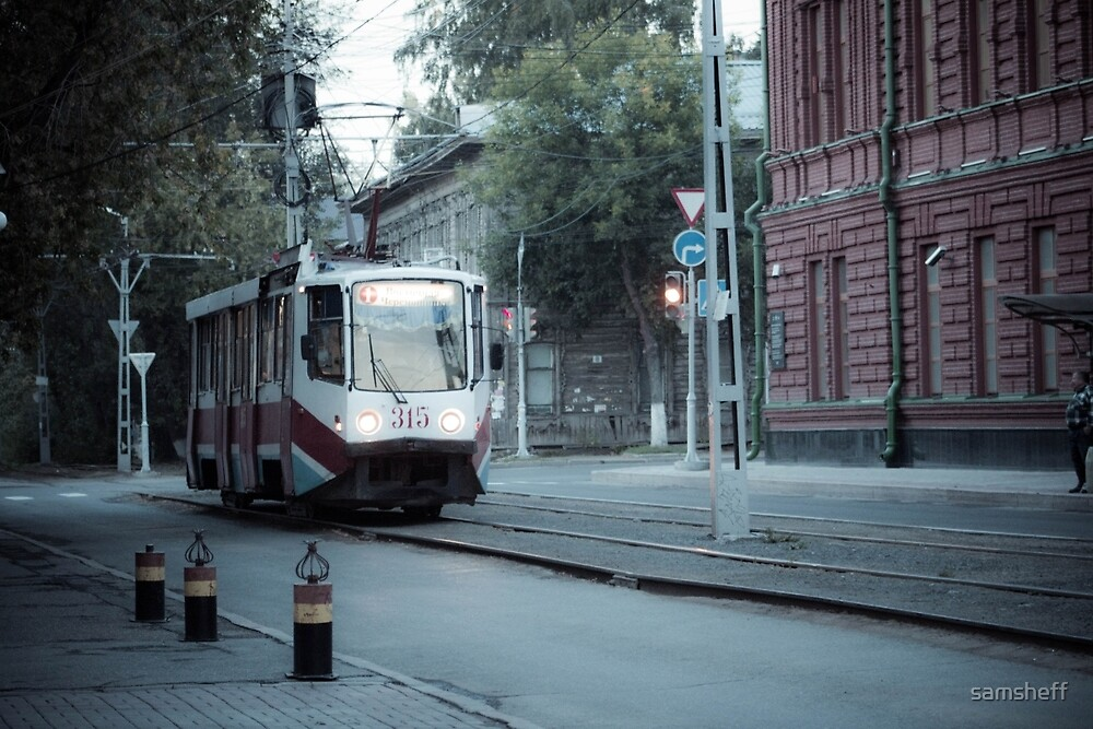 Tram in Tomsk by samsheff