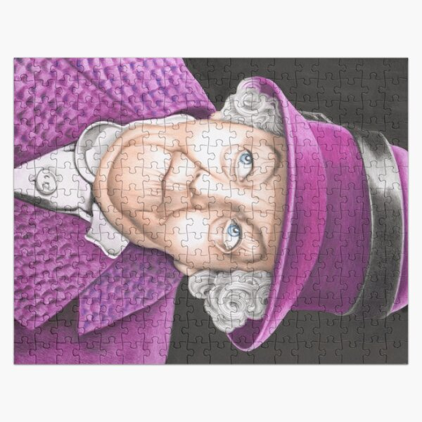 Margaret Rutherford plays Miss Jane Marple Jigsaw Puzzle