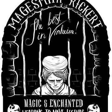 Rickert, the Magesmith by matleirasx