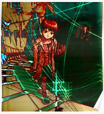 connection (Serial Experiments Lain) Poster