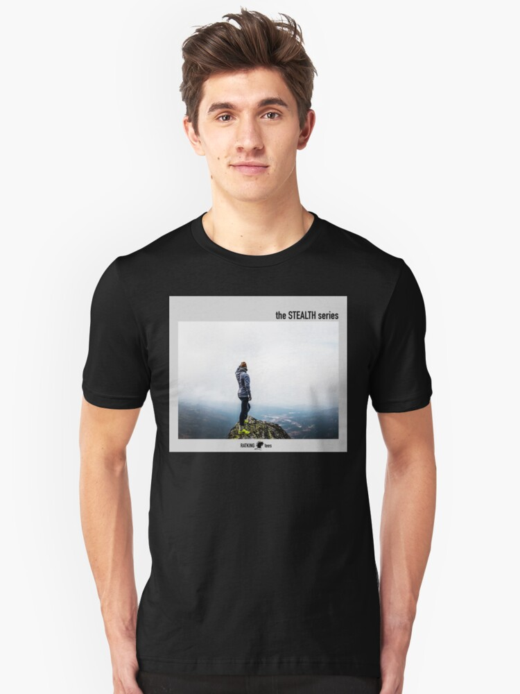 mountain with a view Unisex T-Shirt Front