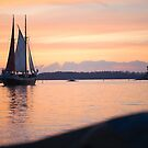 calm evening sail by Hannele Luhtasela-el Showk