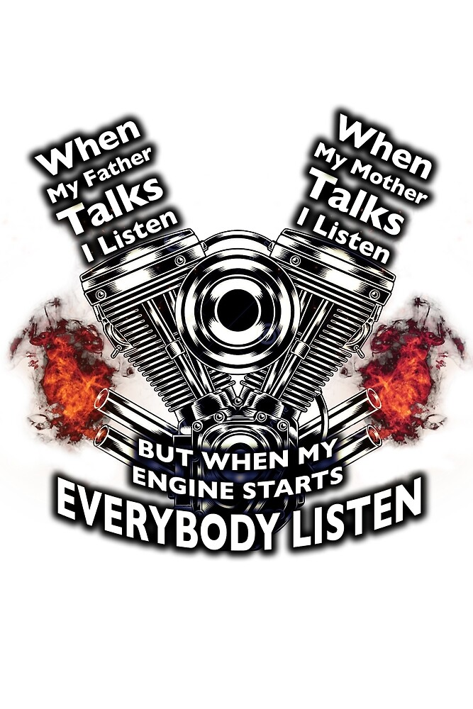 WHEN MY ENGINE STARTS EVERYBODY LISTEN by radixmm