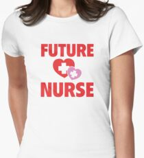 Future Nurse Women's Fitted T-Shirt