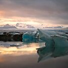 colours of the glacier by Hannele Luhtasela-el Showk
