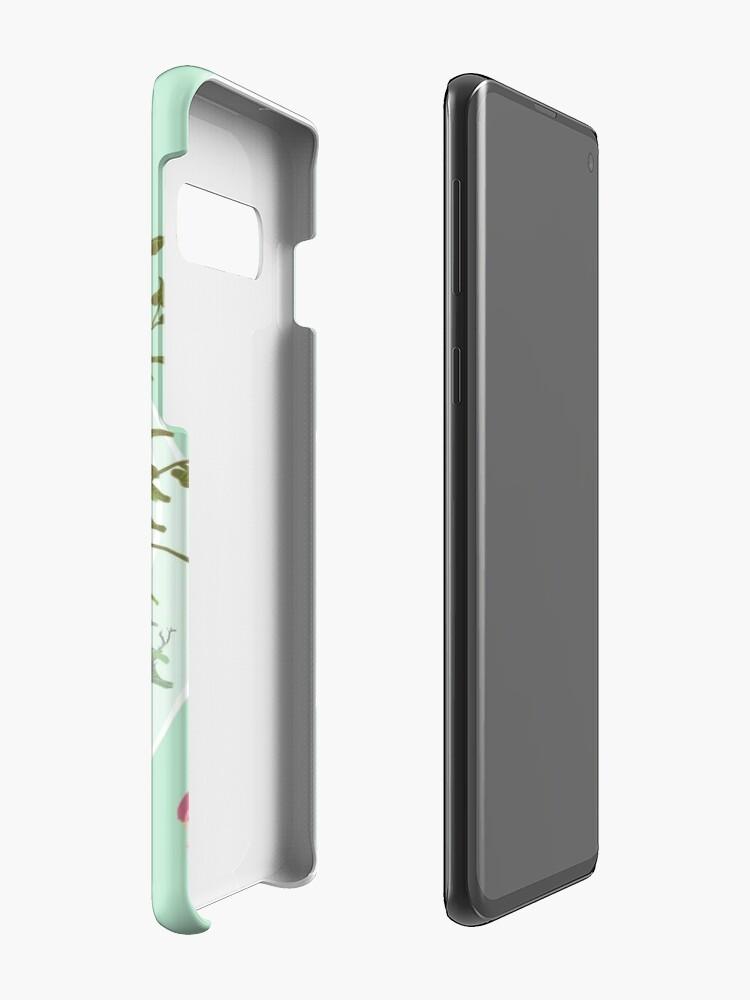 Alternative Ansicht von Rundes Terrarium Hülle & Klebefolie für Samsung Galaxy