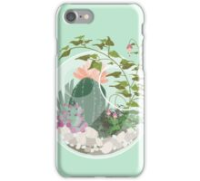 Round Terrarium iPhone Case/Skin
