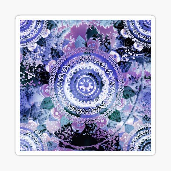 Hyacinth Mandala Sticker