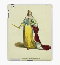 Queen Anne of Austria wife of Louis XIII La Reyne Anne d'Autriche Femme de Louis XIII 453 iPad Case/Skin