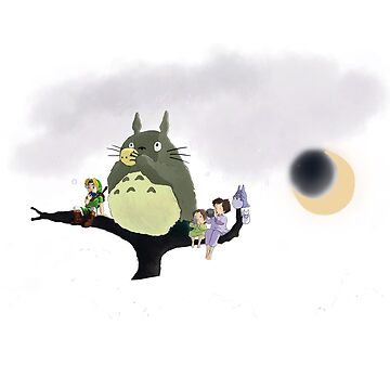 Totoro & Link ~ Ocarina Practise by nooriginalnames