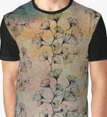 Ginkgo Leaves Graphic T-Shirt