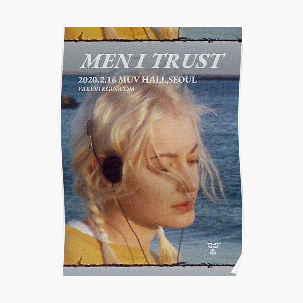 Men I Trust Poster 01 Poster