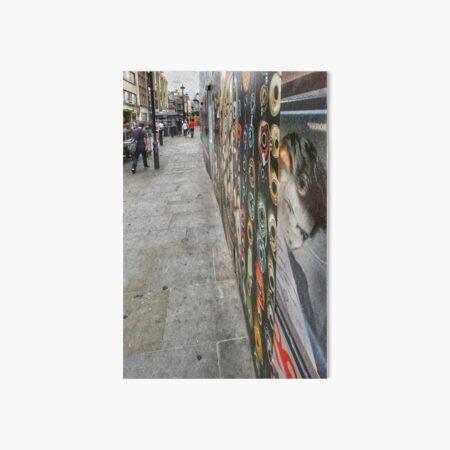 A walk down Soho Market London Art Board Print