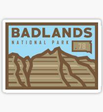 Badlands National Park stickers, gear! Sticker