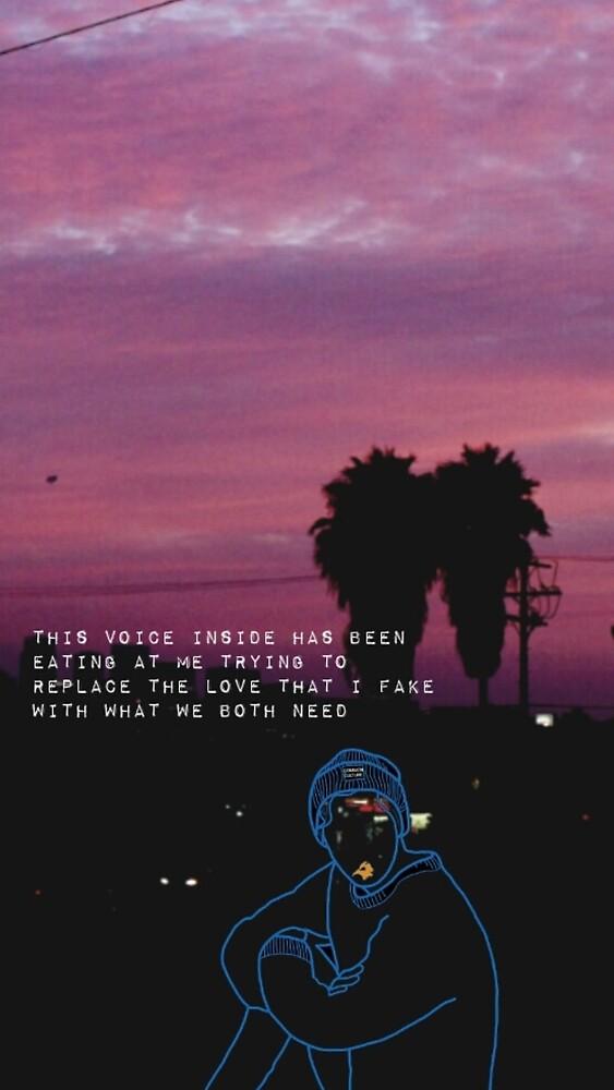 Troye Sivan Lyric Phone Case by CookieswCaylen