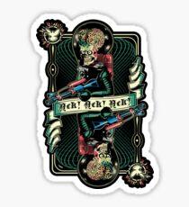 We Come in Peace Sticker