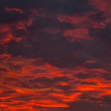 Red Clouds by abiharrell