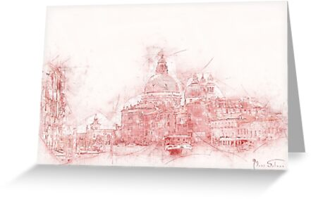 Venice in Red by Mark Salmon