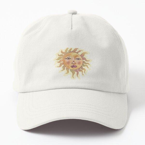 Sun Sticker Dad Hat