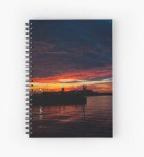 Sunrise 2 Spiral Notebook