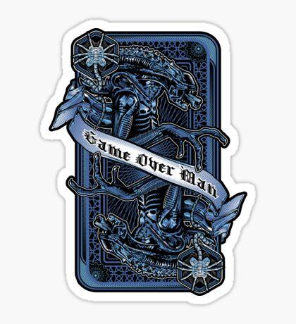 Game Over Man Sticker