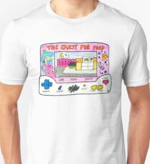 'The Quest For Food' Princess LCD Game  T-Shirt