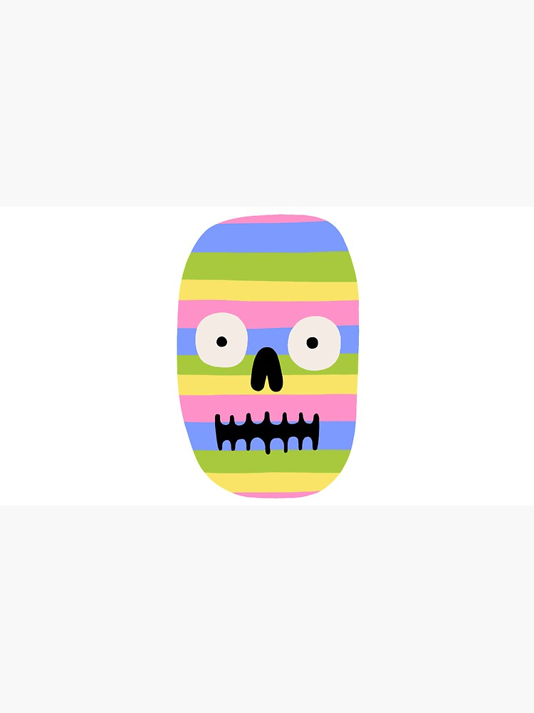 Rainbow Skull by jackteagle