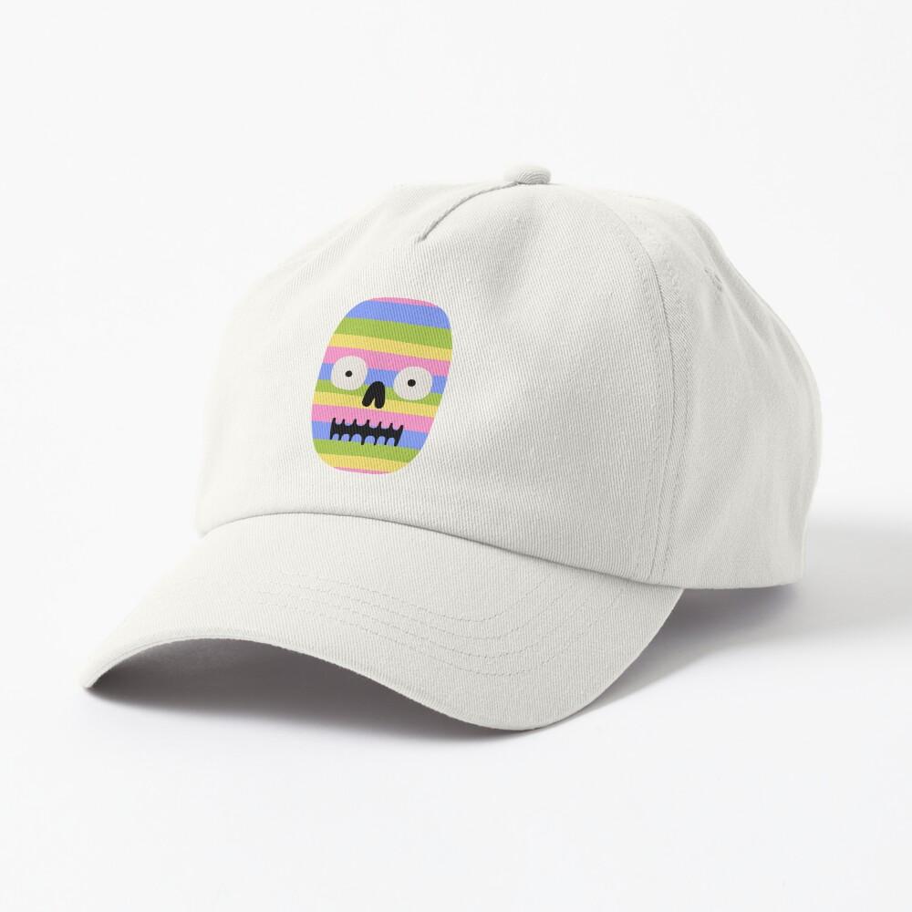 Rainbow Skull Cap