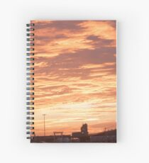 Sunrise 5 Spiral Notebook