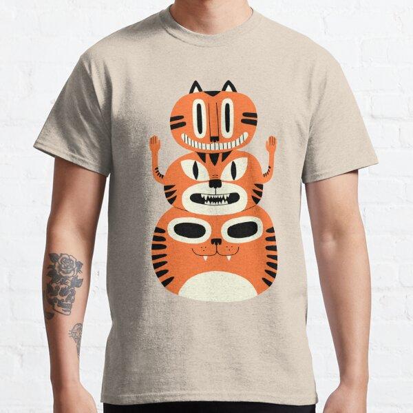 Totem Cat T-shirt classique