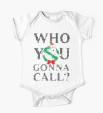 Christmas GhostBusters - Who You Gonna Call?  Kids Clothes