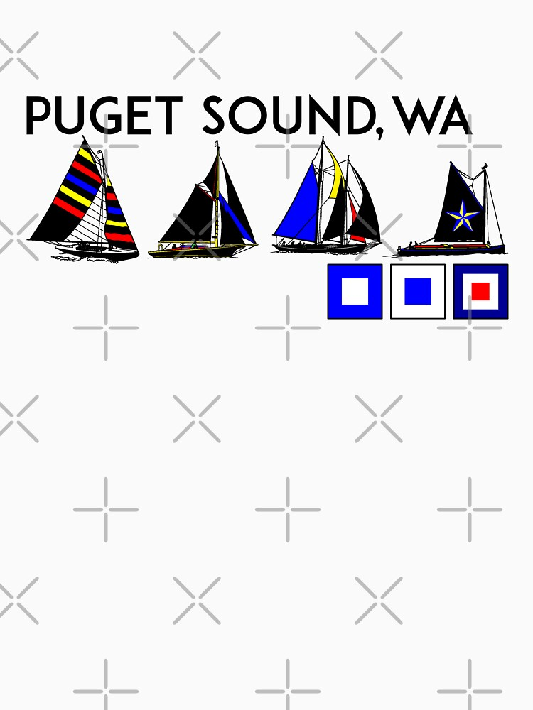 PUGET SOUND WASHINGTON SAILING YACHTING YACHT SAIL BOAT SEATTLE 2 by MyHandmadeSigns