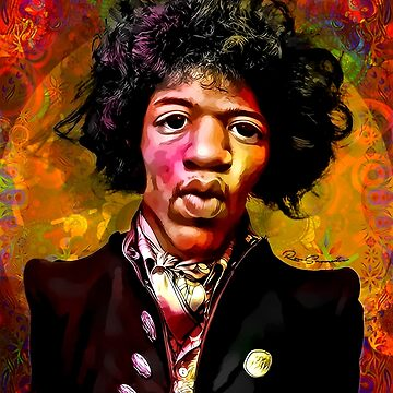 Jimmy Hendrix Fanart by ronstamp
