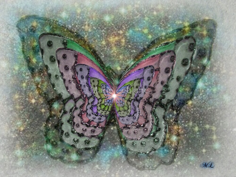 STARLITE BUTTERFLY by Marie Leblanc