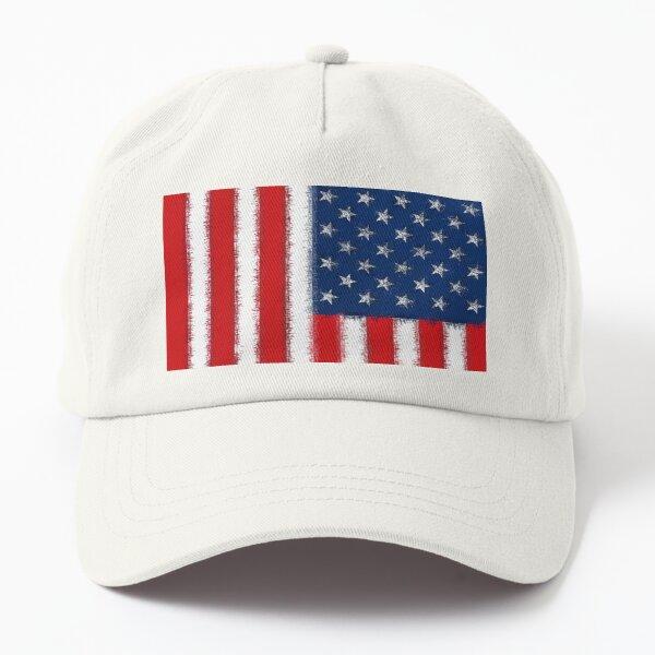 Stylish USA American Flag - Edge Thatch Dad Hat