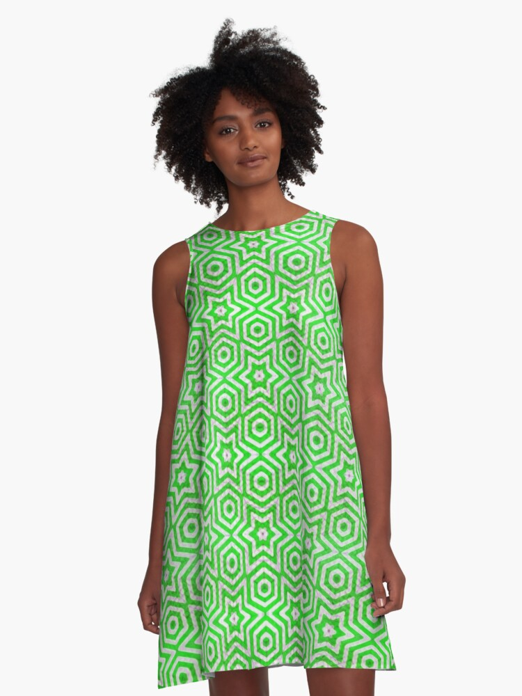 green moves the world A-Line Dress Front