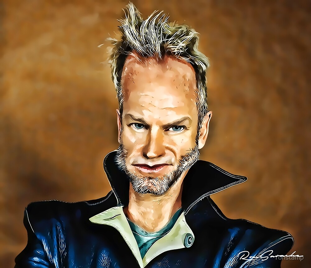 Sting fanart by ronstamp