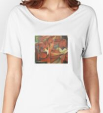 """Foxes"" -  Homage to Franz Marc (1913)     Women's Relaxed Fit T-Shirt"