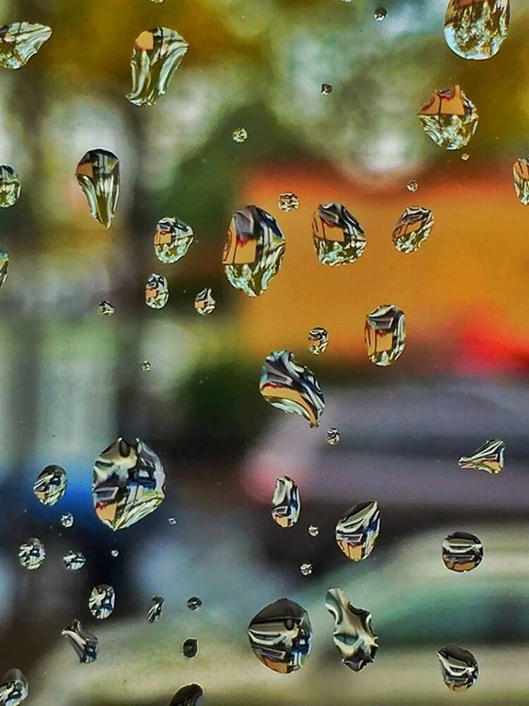 Window Rain by Reid Hall