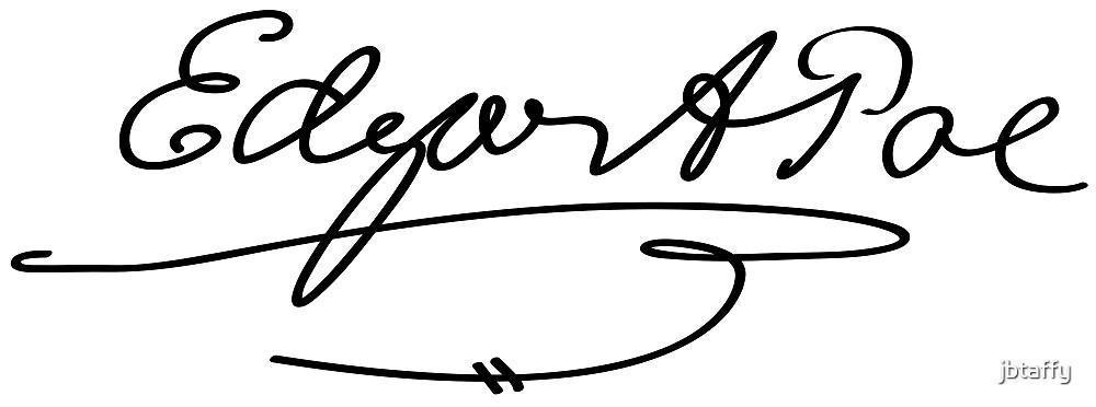Edgar Allan Poe Signature by jbtaffy