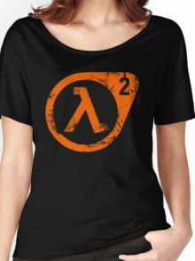 HL2 Orange Women's Relaxed Fit T-Shirt