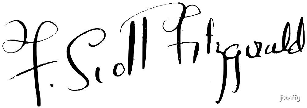 F. Scott Fitzgerald Signature by jbtaffy