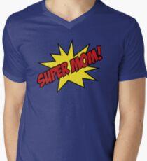 Super Mom! Mens V-Neck T-Shirt
