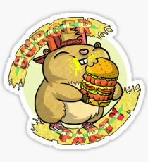 Hamster party Sticker