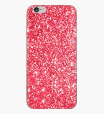 Red Glitter Shiny Glimmer iPhone Case