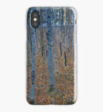 Gustav Klimt - Beech Grove I 1902  iPhone Case/Skin