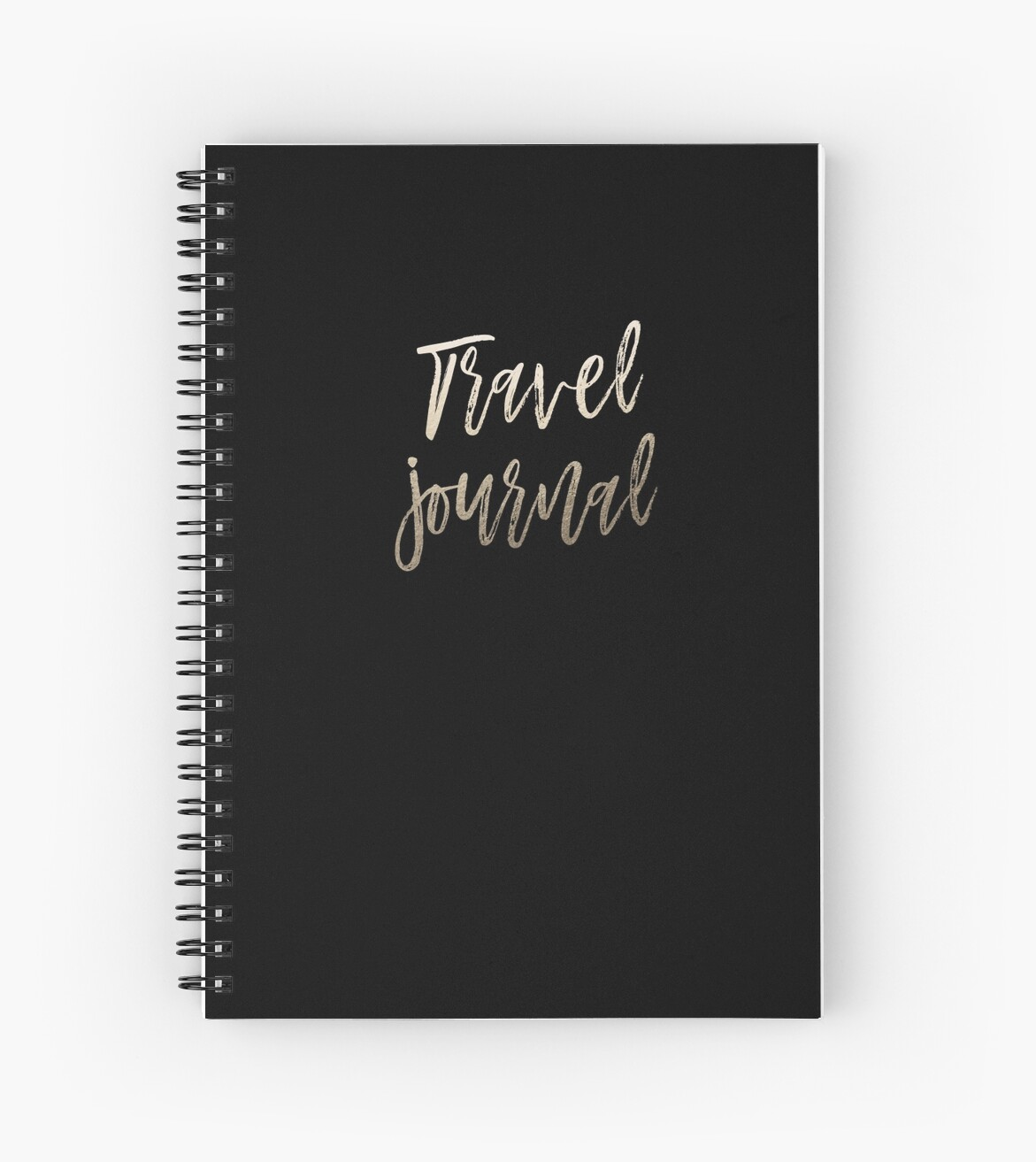 Gold and black travel journal by dairinne