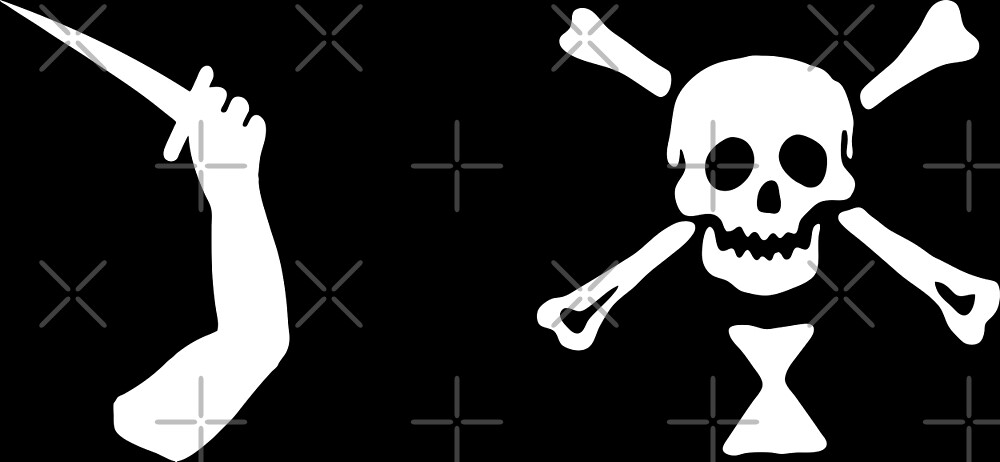 Jeremiah Cocklyn Pirate Flag 2 by kayve