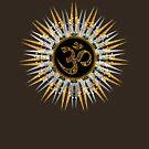 Sun Sparkle Mandala #1 by webgrrl